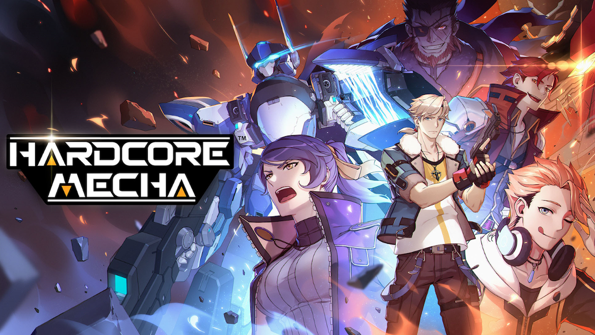 Award-winning 2D robot-combat platformer HARDCORE MECHA has launched on Nintendo Switch