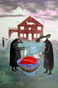 Bird Bath by Leonora Carrington