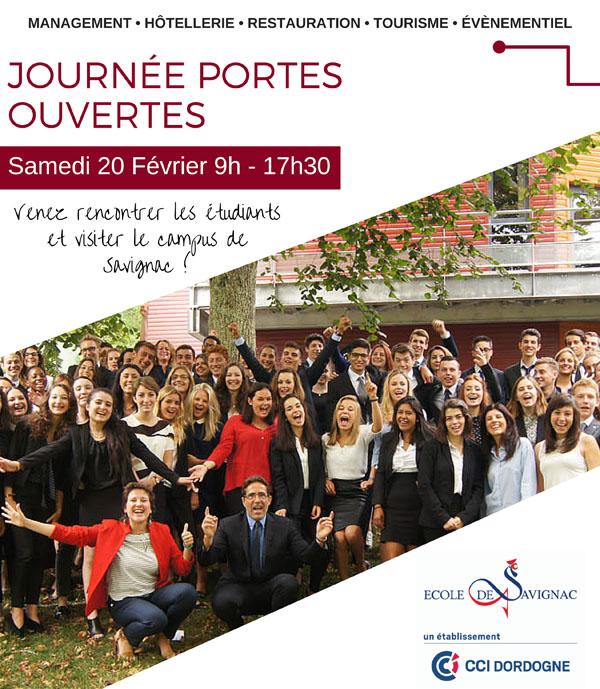 JPO 2016 à l'Ecole de Savignac