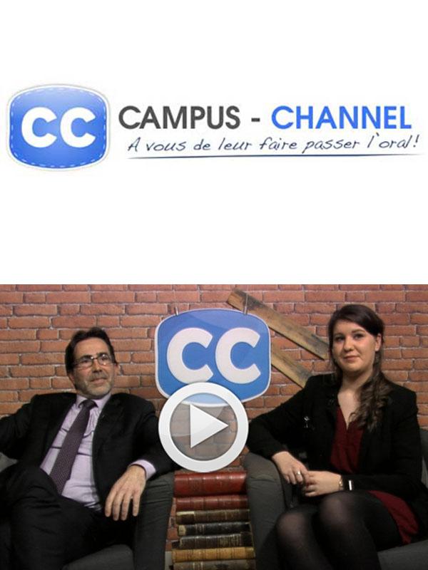L'Ecole de Savignac en live sur Campus Channel