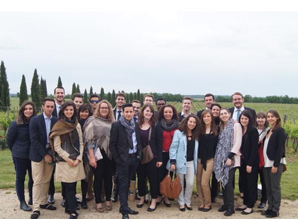 Découverte de l'œnologie pour les MBA de Savignac