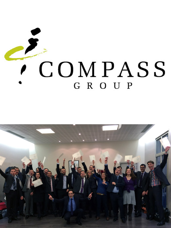 Remise de diplômes pour les cadres Compass Group