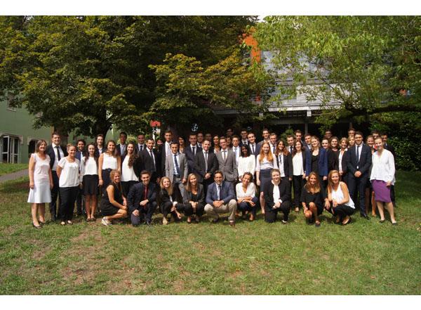 Promotion 10 des étudiants en Bachelor International en Management hôtelier