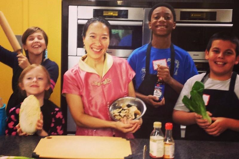 stir fry, cooking class