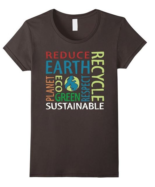 Reduce Recycle go green shirt