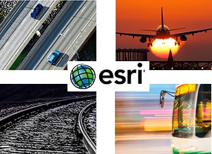 Esri transportation Logo