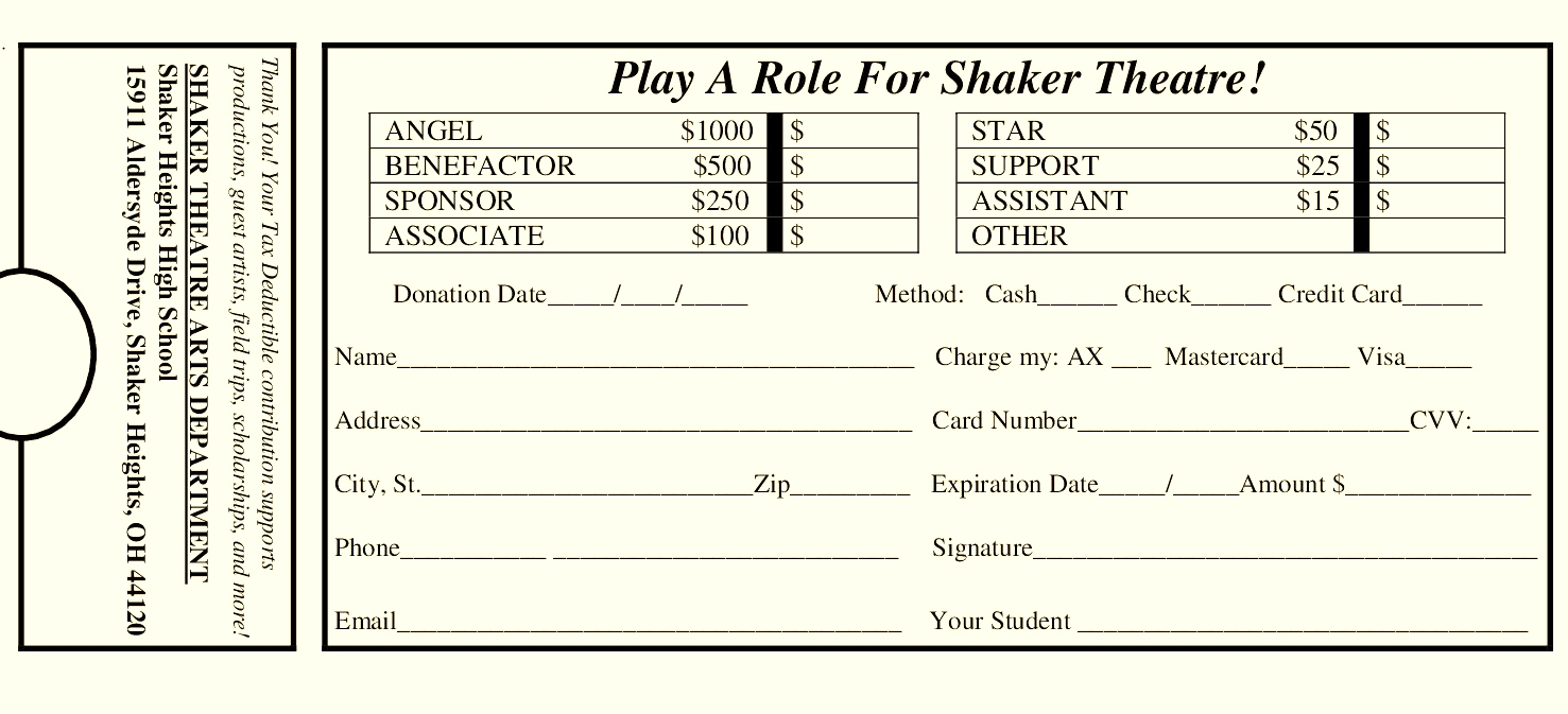 Shaker Theatre Presents NEW STAGES 36: Shaker New Plays Series