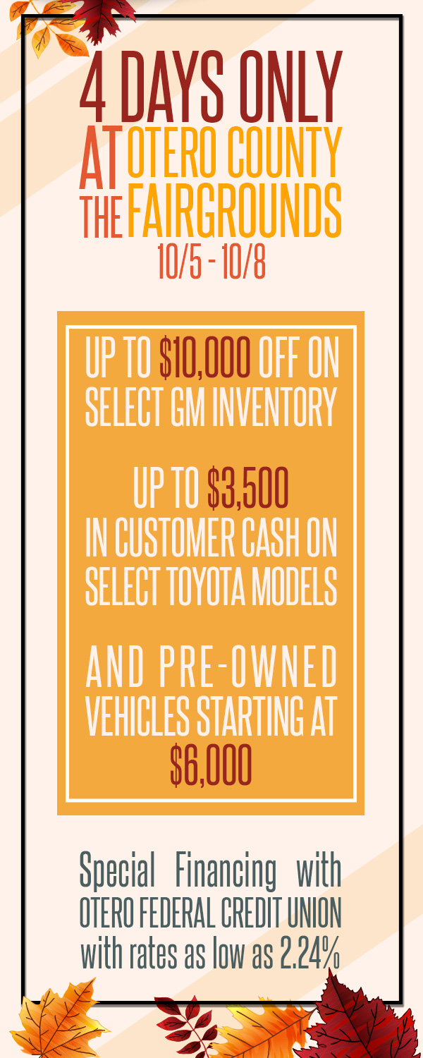 Fall Sales Event Flyer Body