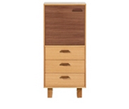 Boundary Storage Unit, Walnut