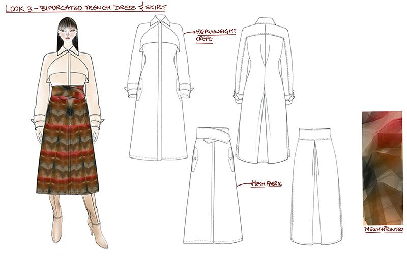 student fashion illustration
