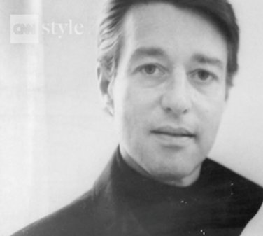 screenshot of Halston from CNN Films video Meet America's First Superstar Fashion Designer