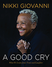 Nikki Giovanni book cover, A Good Cry