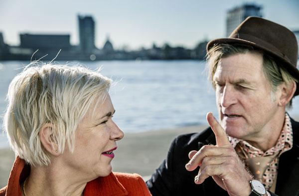 Christine Otten en Huub van der Lubbe