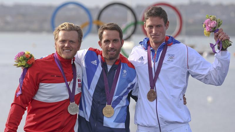Olympic Medalists 2012 Finn - All former Oppy sailors