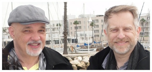 Brian Robertson & Simon James