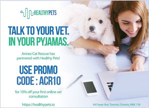 ACR has partnered with Healthy Pets