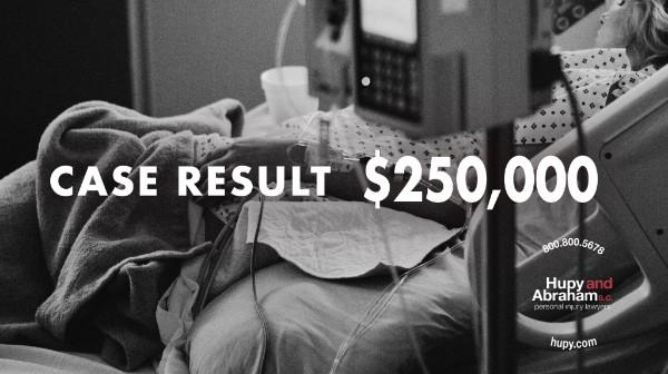 CASE RESULT: $250,000