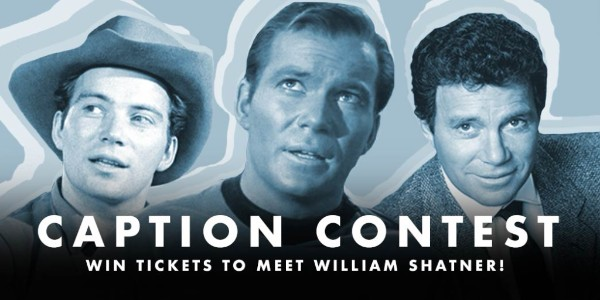 Shatner Shenanigans! Caption Contest!