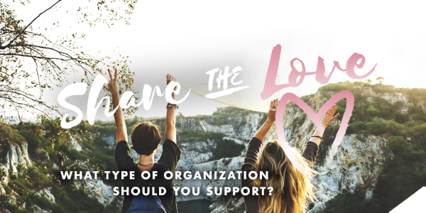 What type of organization should you support?