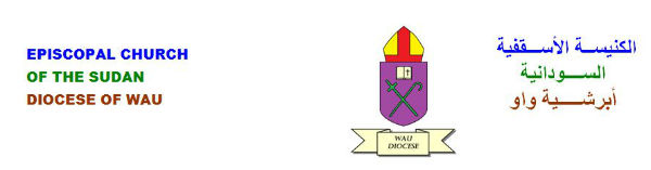 The header of wau Diocese