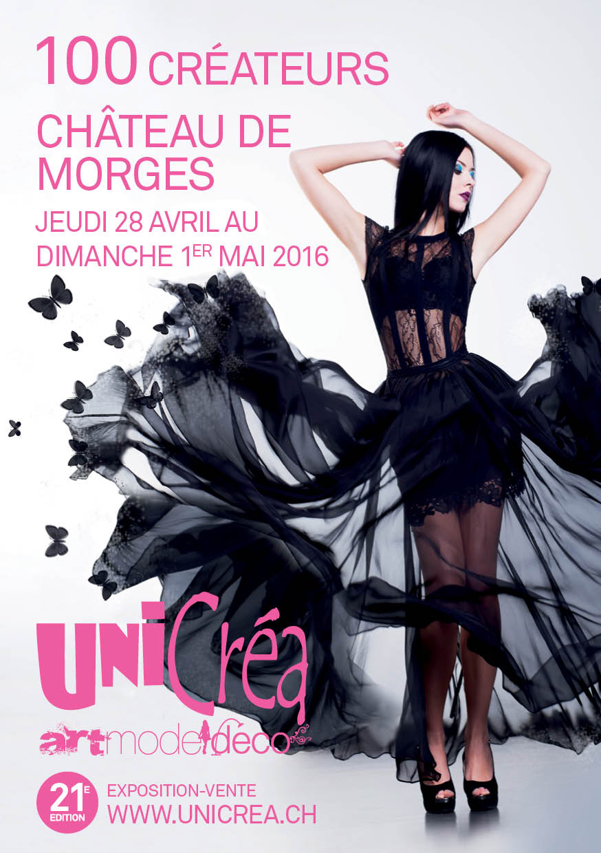 Affiche salon Unicréa