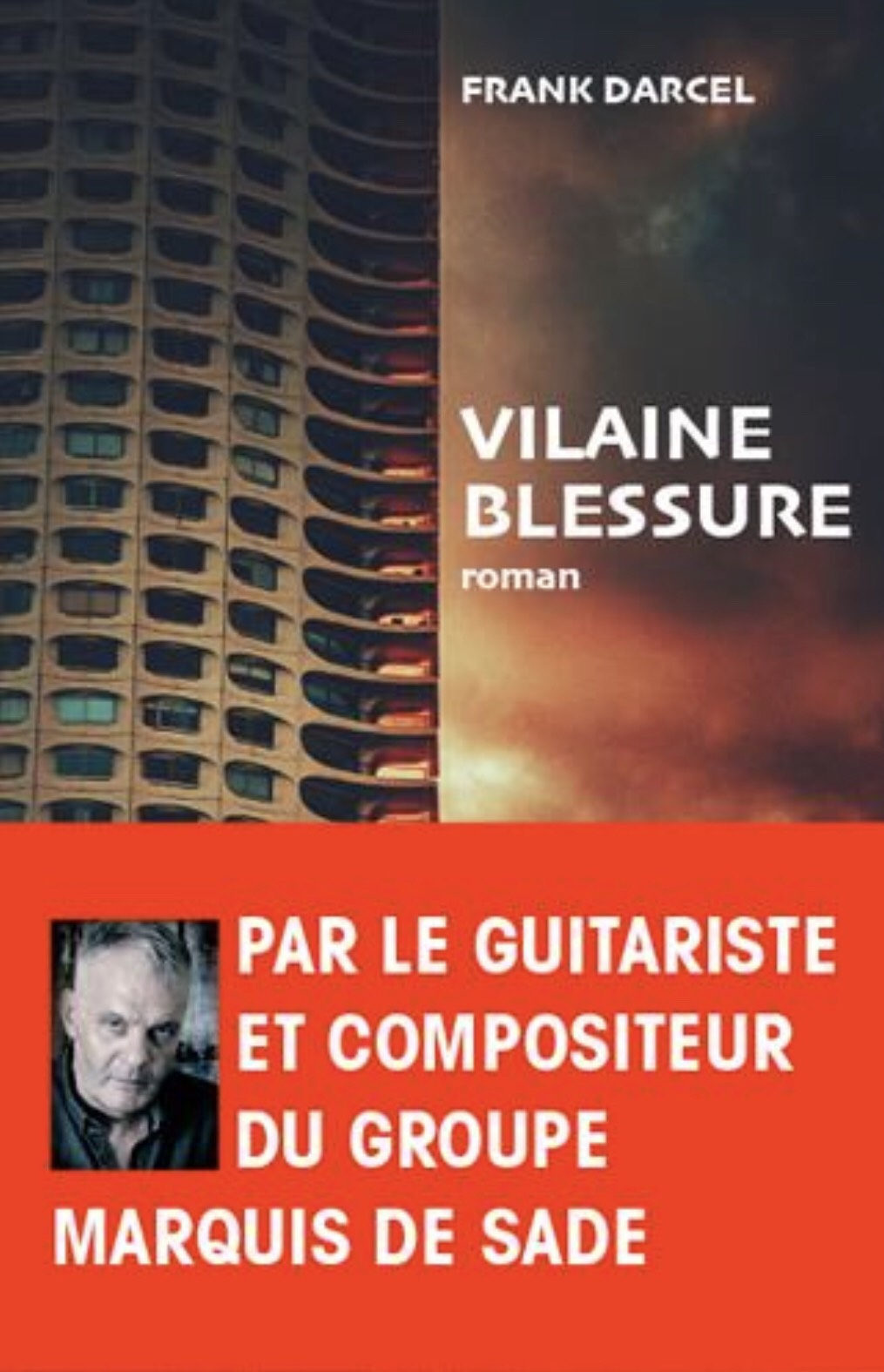 Cover of Vilaine Blessure, Frank Darcel's 4th novel