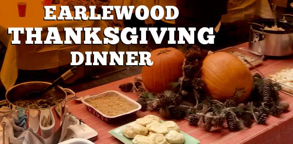 Earlewood Thanksgiving Dinner