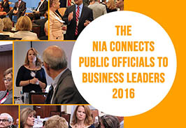 The NIA Connects Officials to Business Leaders