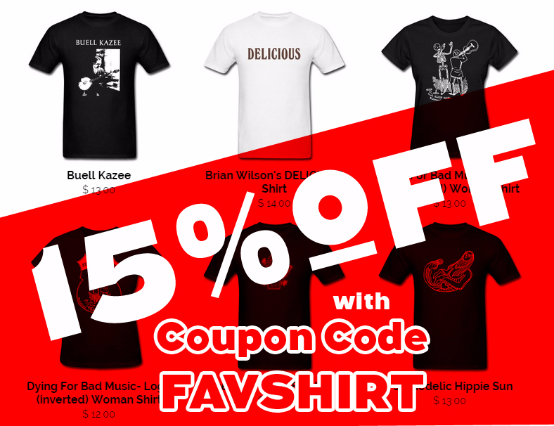 15% OFF with code FAVSHIRT