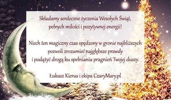 """""""Składamy serdeczne życzenia Wesołych Świąt..."""" - Jeśli nie widzisz życzeń, włącz wyświetlanie obrazów."""