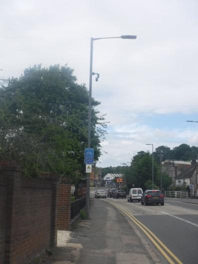 CCTV camera installation at near Ford Street