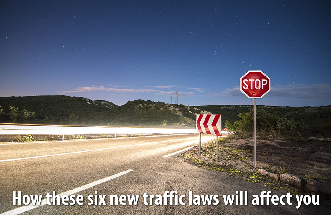 How these six new traffic laws will affect you