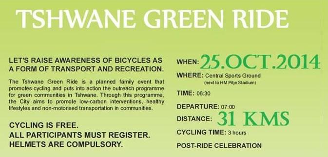 Tshwane Green Ride