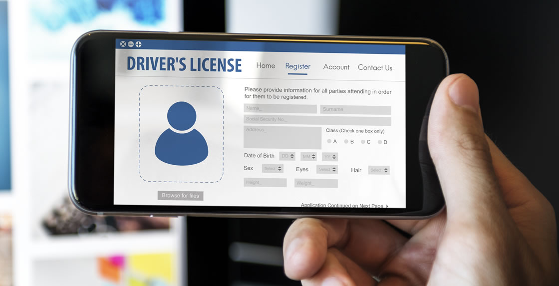 Renew your license directly from your mobile