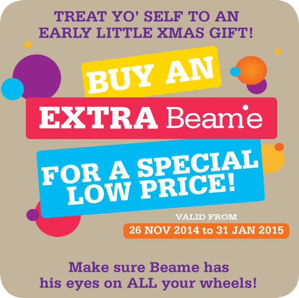 Buy an extra Beame for a special low price!