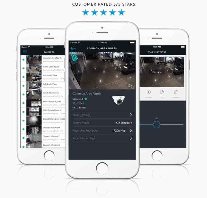 UniFi Video Mobile App