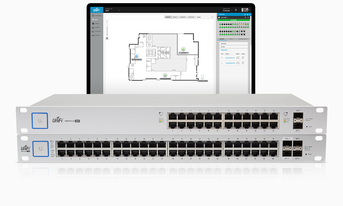UniFi® Switches and Software