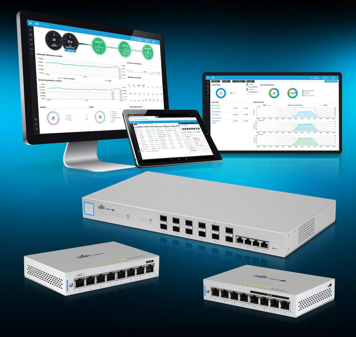 UniFi 8-Port Switches