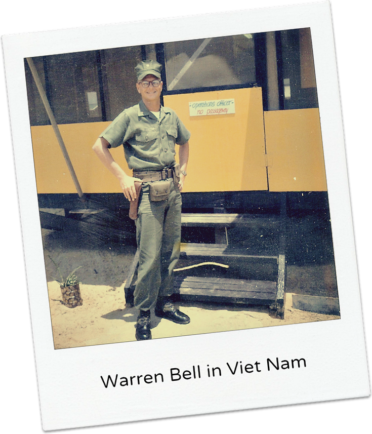 Warren Bell in Vietnam