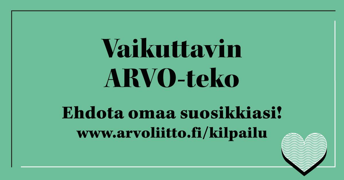 Vaikuttavin ARVO-teko