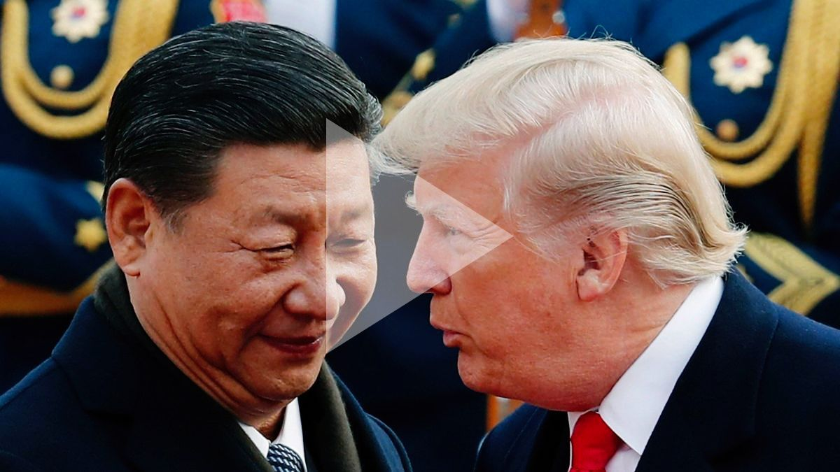 President Trump and President Jinping