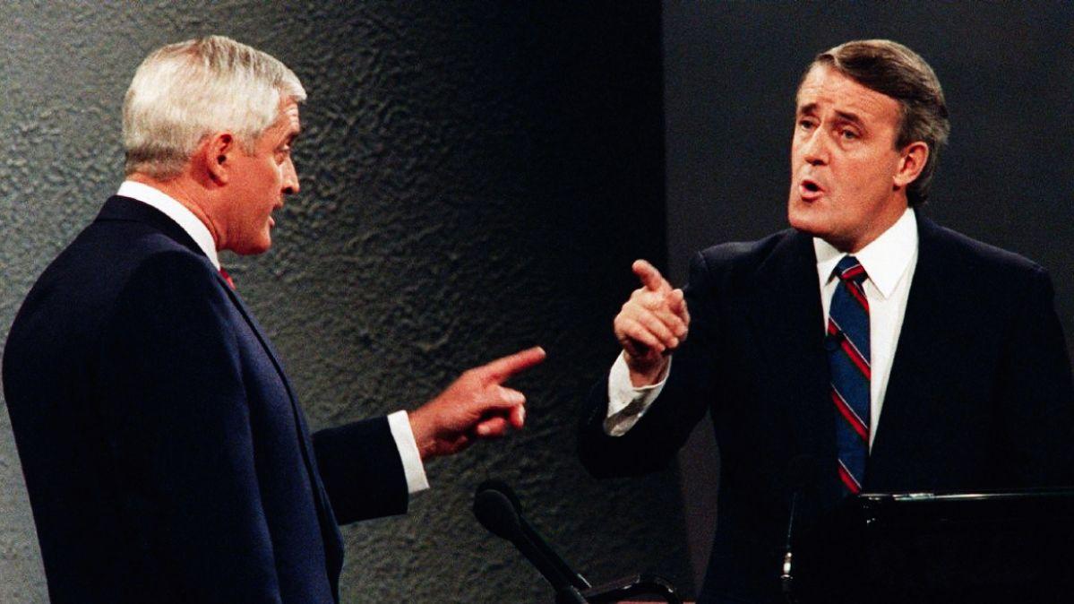 John Turner and Brian Mulroney