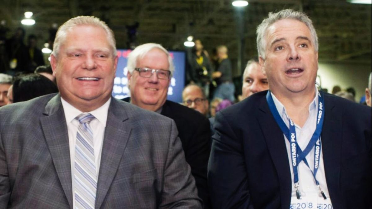 Doug Ford and Dean French