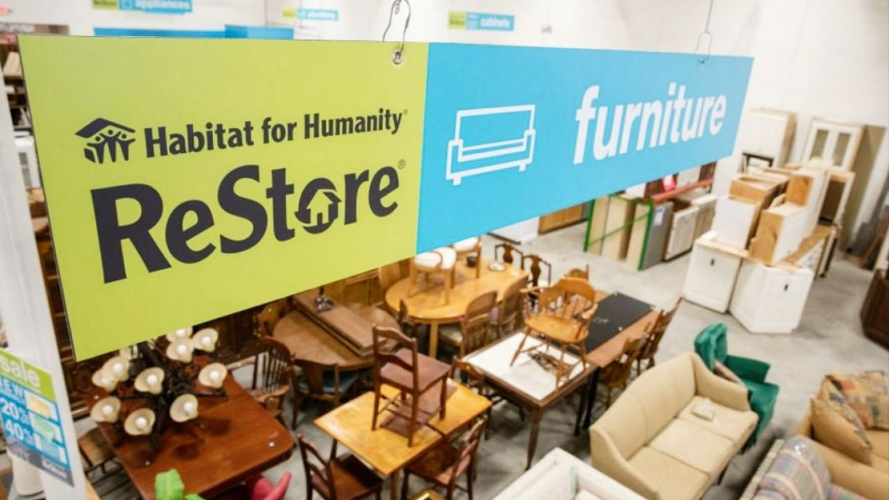 Inside a Habitat for Humanity ReStore