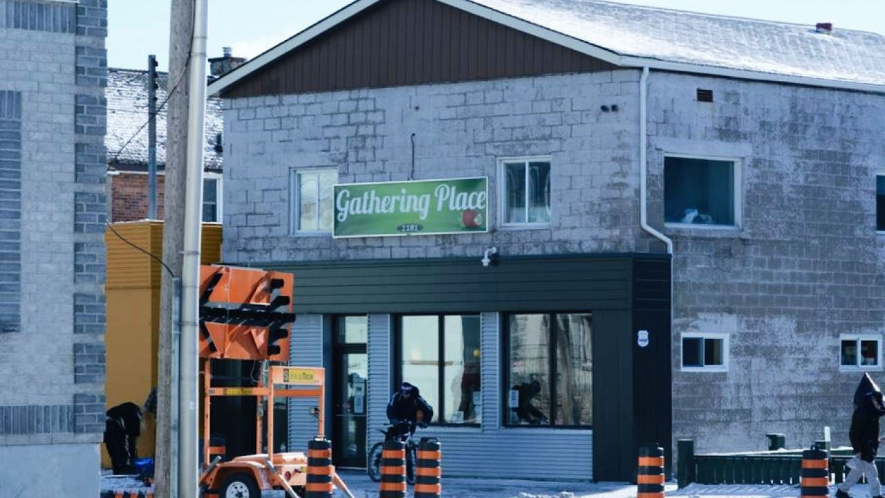 warming centre in north bay