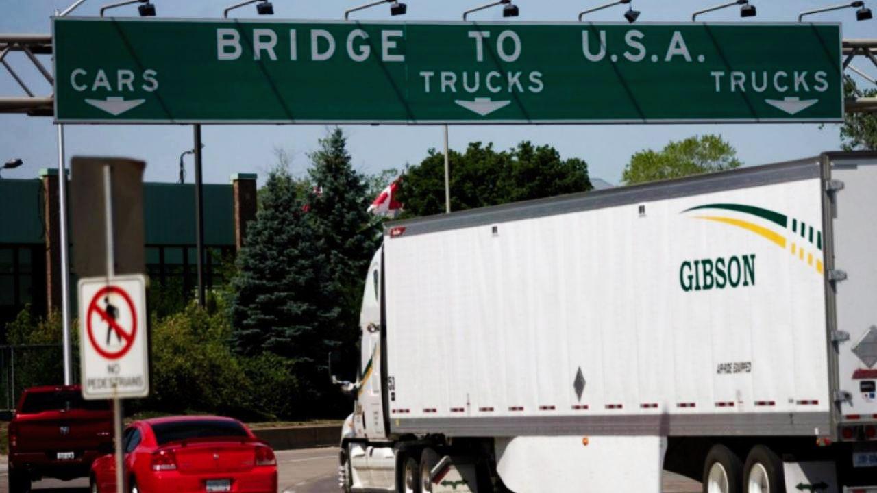traffic at the Canada/U.S. border