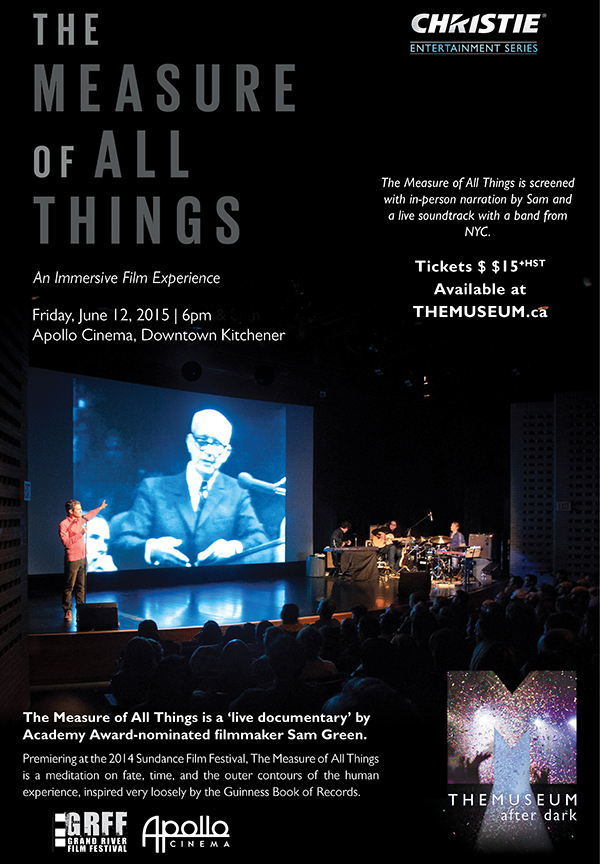 The Measure of All Things - June 12, 2015 at THEMUSEUM.ca
