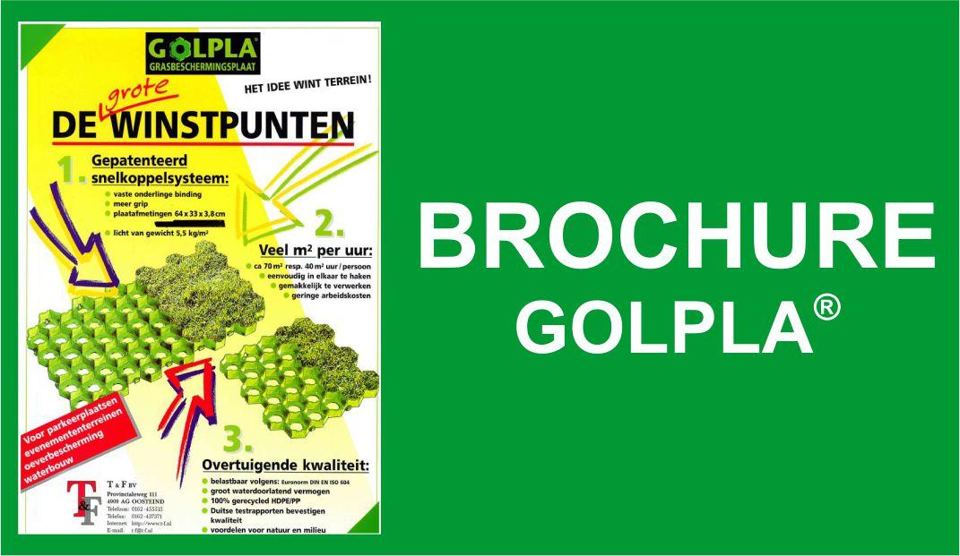 T&F > BROCHURE GOLPLA®
