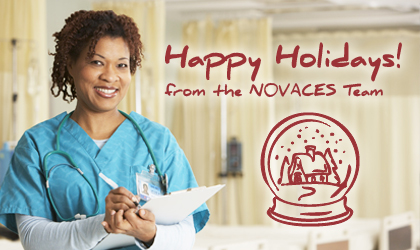 Happy Holidays from the NOVACES Team