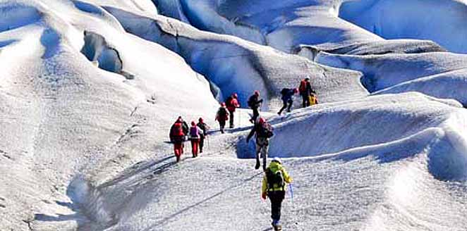 Groenlandia. Kayak y trekking en glaciar
